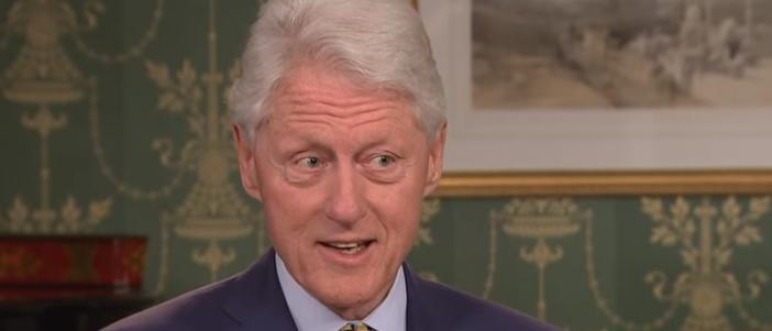 Bill Clinton questions Al Franken allegations on PBS Newshour screengrab e