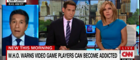 CNN Devotes Entire Segment To The Dangers Of Video Game Addiction - New Day 6-18-18