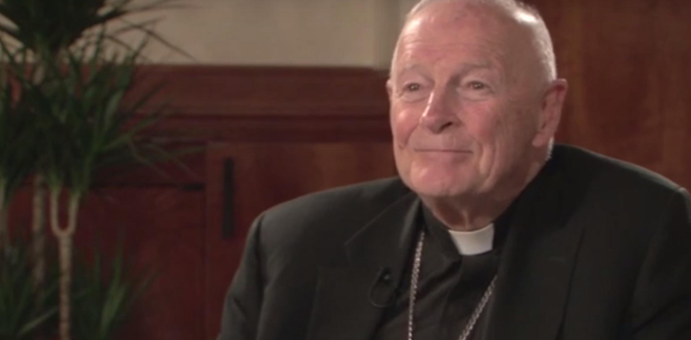 Cardinal McCarrick Youtube screen shot