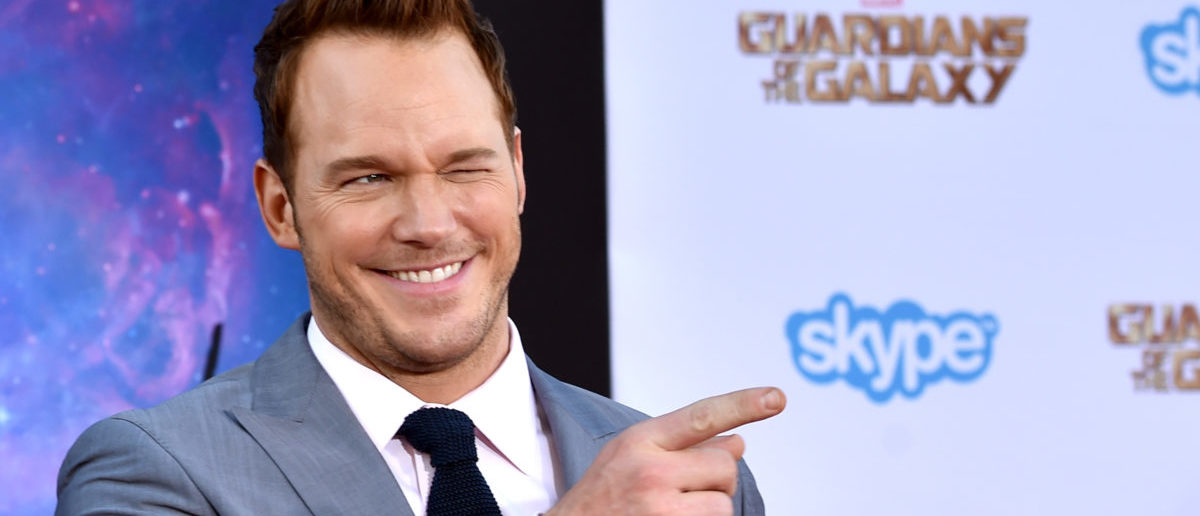 """Actor Chris Pratt attends the premiere of Marvel's """"Guardians Of The Galaxy"""" at the Dolby Theatre on July 21, 2014 in Hollywood, California. (Photo by Kevin Winter/Getty Images)"""