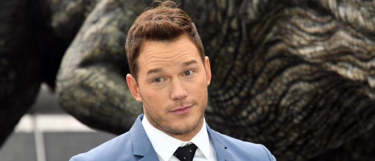 LONDON, ENGLAND - MAY 24: Chris Pratt attends the 'Jurassic World: Fallen Kingdom' photocall at London Bridge on May 24, 2018 in London, England. (Photo by Stuart C. Wilson/Getty Images)