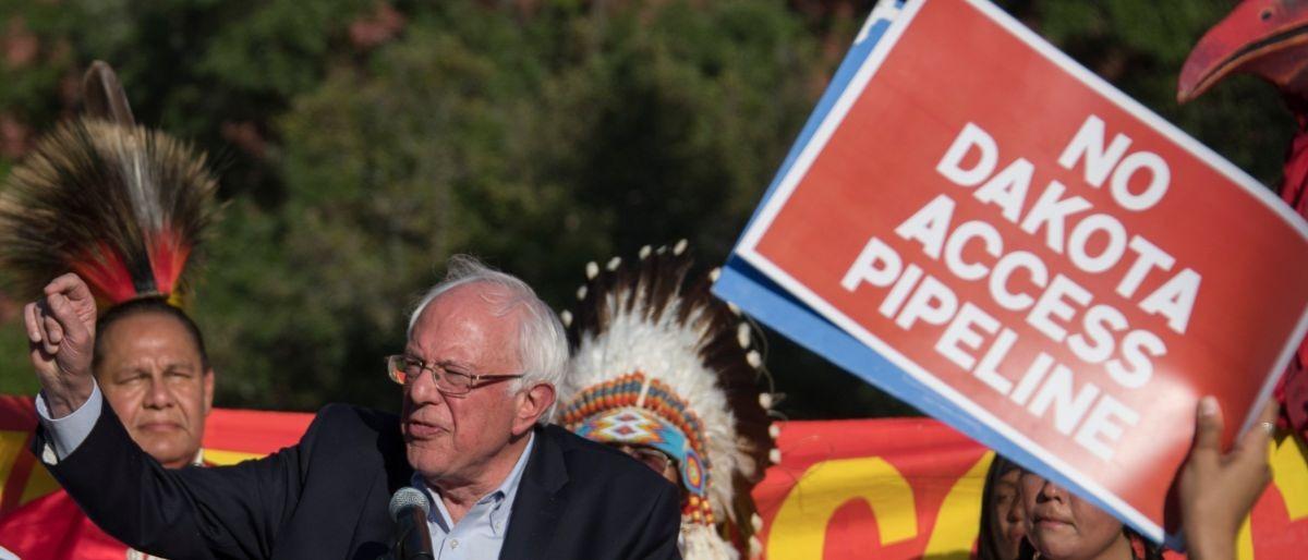 Dakota Access Pipeline protest AFP/Getty Images/Jim Watson