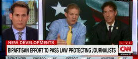 GOP Rep. Jim Jordan Lobbies For Law To Protect Journalists From The Government - CNN New Day 6-21-18