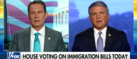 GOP Rep. Michael McCaul Says His Bill Would Detain And Remove Illegal Immigrants After They Cross The Border - Fox & Friends - 6-21-18