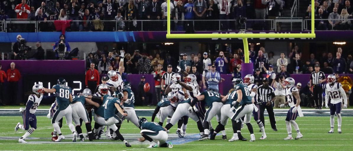 Super Bowl Eagles vs. Patriots