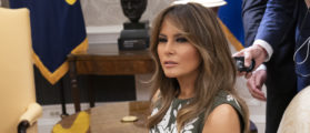 Amazing Photo: Melania Trump Is Looking Completely Unbothered By Media Scrutiny