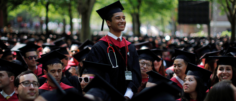 Harvard Medical School graduates (Reuters, 06/19/18)