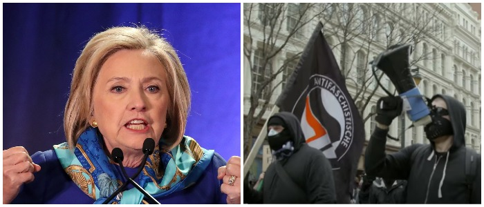 Left: Photo by Drew Angerer/Getty Images Right: VICE Youtube screenshot