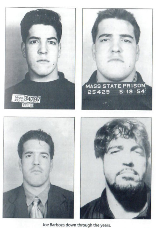 "Joe ""The Animal"" Barbazo through the years (Massachusetts State Prison)"