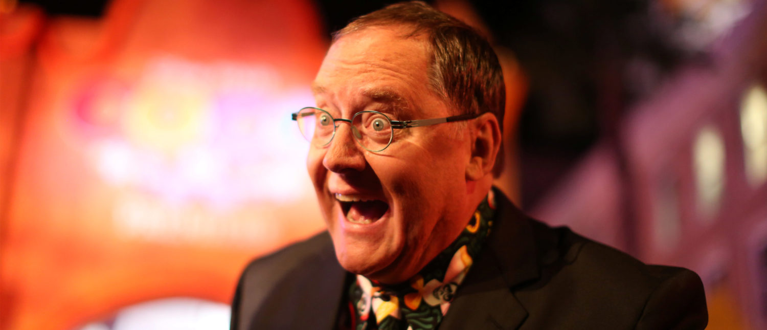 """Executive Producer John Lasseter attends Disney-Pixar's U.S. premiere of """"Coco"""" in the Hollywood section of Los Angeles, California, U.S. November 8, 2017. REUTERS/David McNew - RC1F96175A70"""