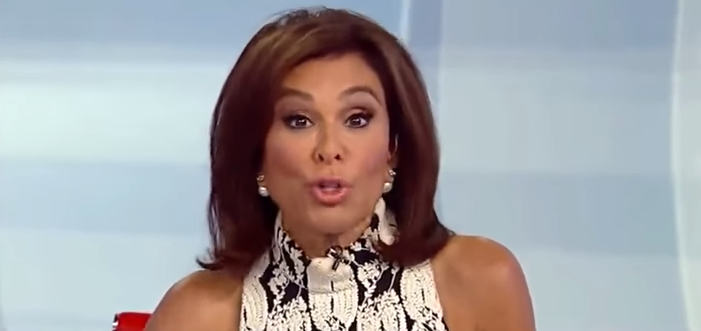 Judge Jeanine Pirro blasted MSNBC host on Hannity image via Fox News screengrab e