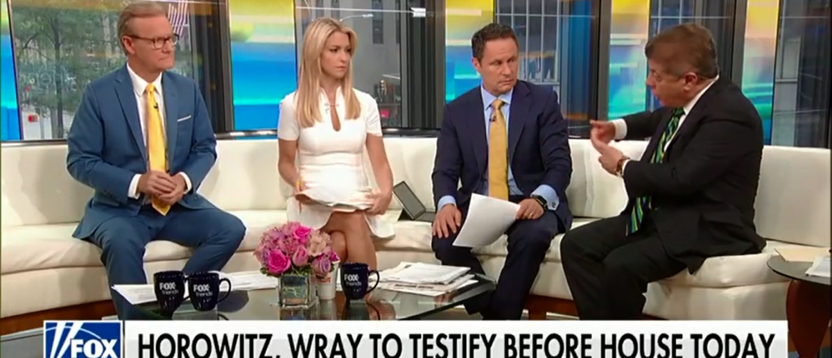 Judge Napolitano Says FBI Director Christopher Wray Has Made It Clear He Will Not Share Docs With Congress - Fox & Friends- 6-19-18