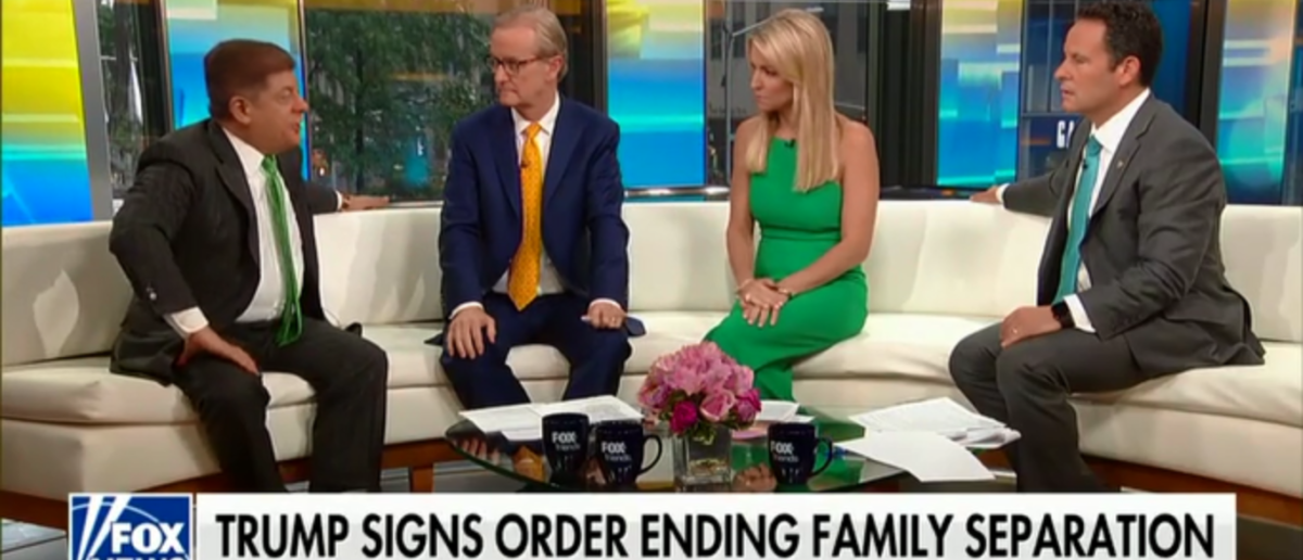 Judge Napolitano Says Illegal Immigrant Detention Facilities Were Substandard Under Obama, But Media Ignored It - Fox & Friends - 6-21-18 (Screenshot/Fox News)