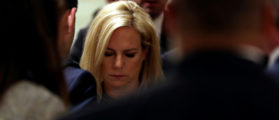 Pundits, Activists Celebrate Harassment Of Female DHS Secretary