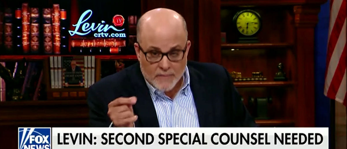 Mark Levin Wants Special Counsel To Investigate James Comey, Says Biggest Threat To Electoral System Is Federal Government -- Fox & Friends 6-15-18