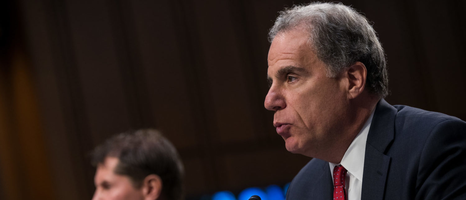 Michael Horowitz, Inspector General of the U.S. Department of Justice. (Photo by Drew Angerer/Getty Images)