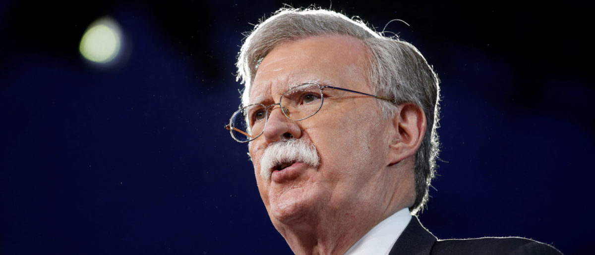 Former U.S. Ambassador to the United Nations John Bolton speaks at the Conservative Political Action Conference (CPAC) in Oxon Hill, Maryland, U.S. February 24, 2017. (REUTERS/Joshua)