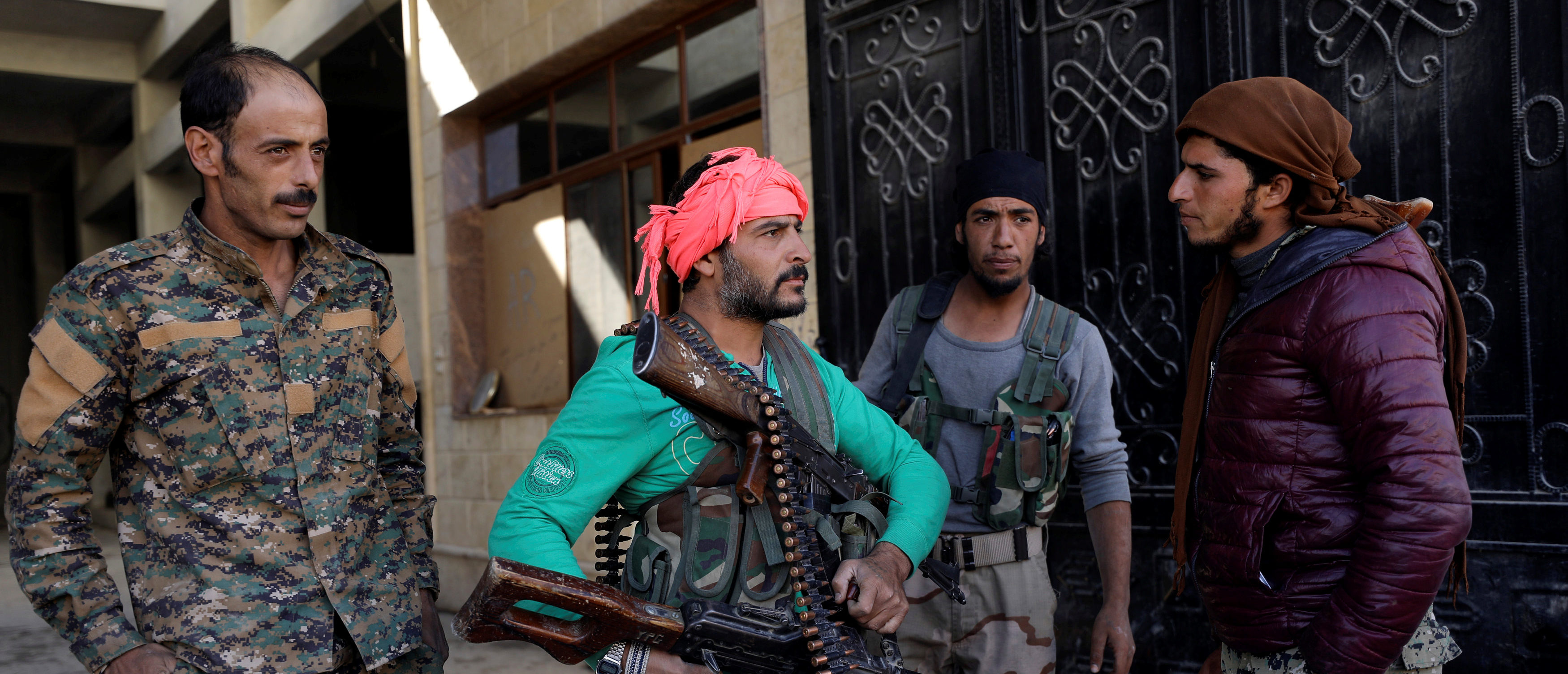 Raqqa On Lockdown After Possible ISIS Infiltration