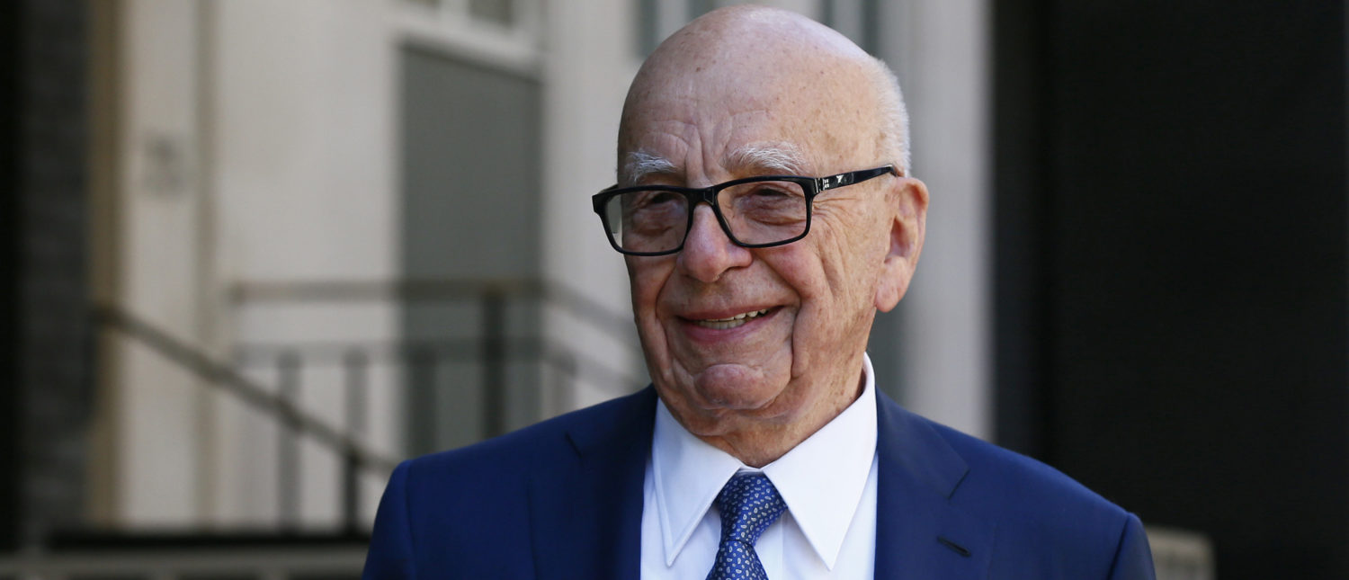 Media mogul Rupert Murdoch leaves his home in London, Britain March 4, 2016. Murdoch wed former supermodel Jerry Hall in a low-key ceremony in central London on Friday, the fourth marriage for the media mogul. REUTERS/Stefan Wermuth - LR1EC34181Q6J