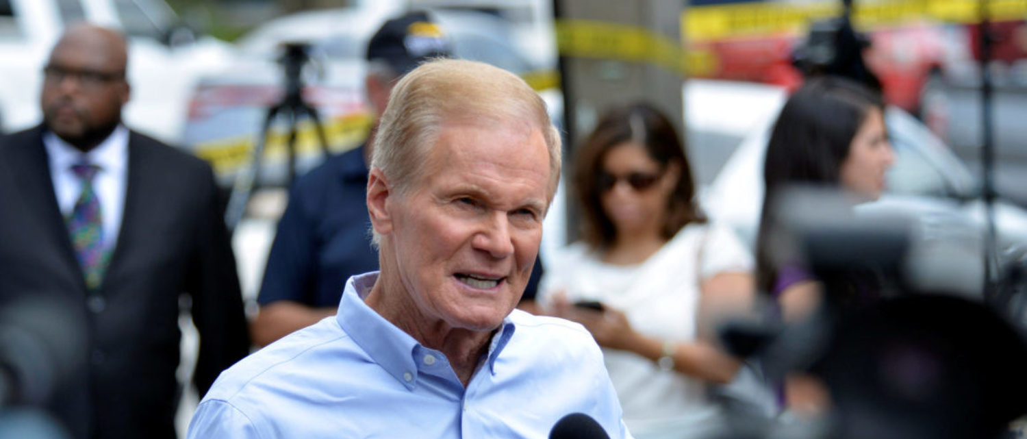 'The Earth Is Heating Up': Sen Bill Nelson Blames Hurricane Michael On Global Warming