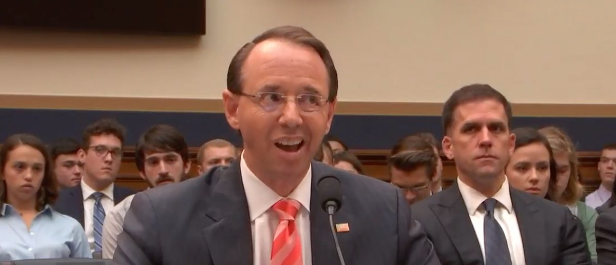 Rosenstein's Comments About Strzok's Credibility Issues Are Not Good For The Russia Probe