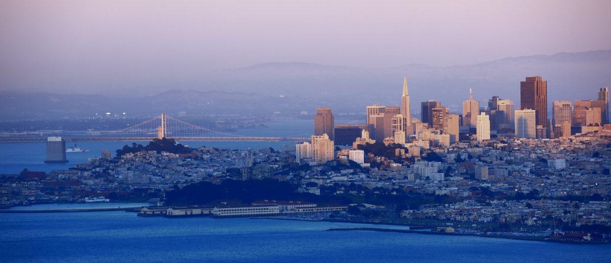 Evening shot of San Fransisco (Shutterstock/S.R.Lee Photo Traveller)