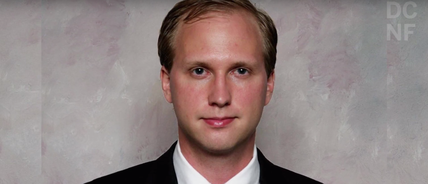 Nathan Larson, an admitted pedophile and rapist who is running as an independent for Congress (Screenshot/YouTube/DCNF)