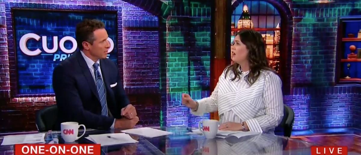Sarah Sanders Wipes The Floor With CNN's Chris Cuomo