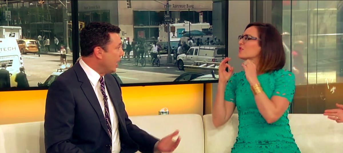Jason Chaffetz and Lisa Kennedy spar over Immigration (Photo- Screenshot Fox News)