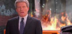 Richard Painter, previously an ethics lawyer for former President George W. Bush, released his first campaign ad for U.S. Senate on Sunday, and it involves actual fire. (Photo: Youtube/Painter Minnesota)