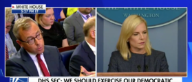 WH Reporter Brags About Disrupting Briefing By Playing Audio Of Crying Children