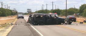 5 Killed When SUV Packed With Illegal Immigrants Crashes On Texas Highway
