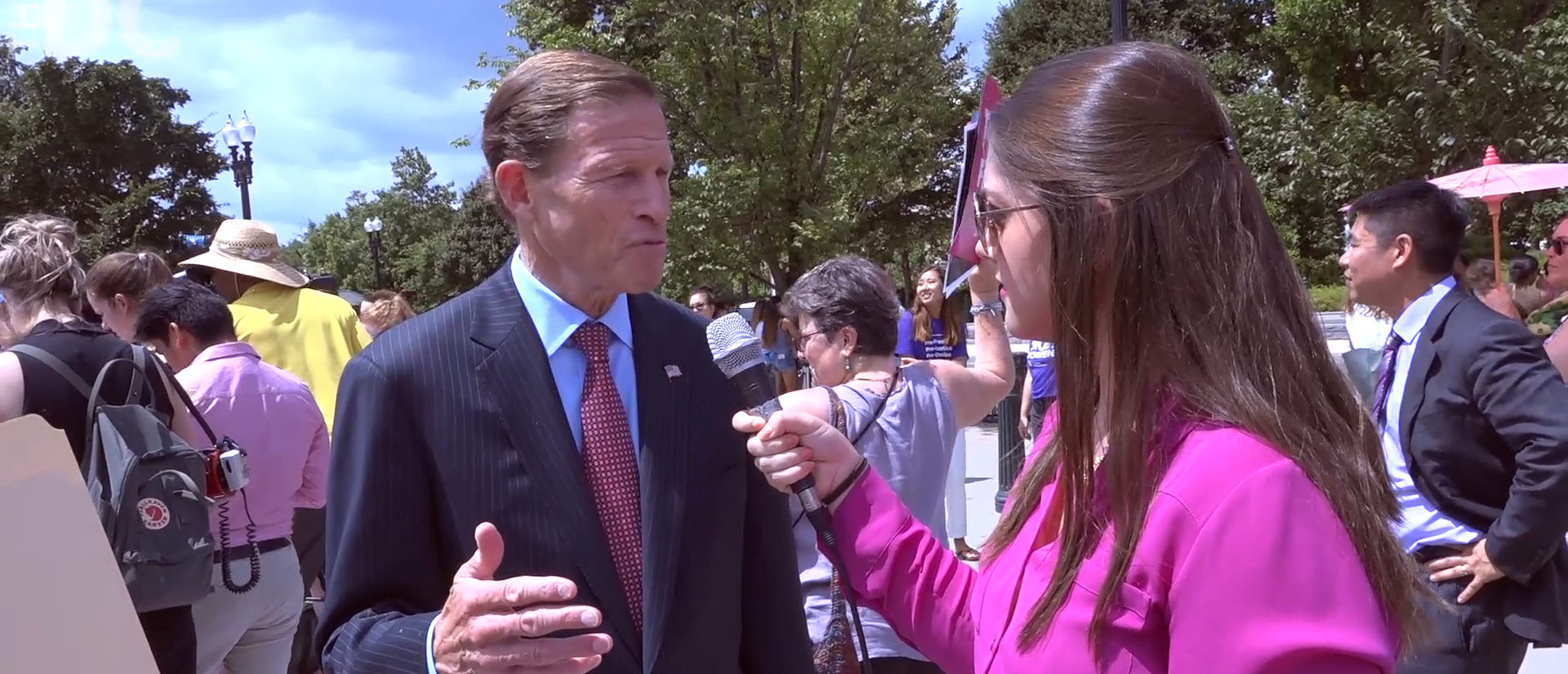 Amber Athey Interviews Sen. Richard Blumenthal (June 28, 2018)