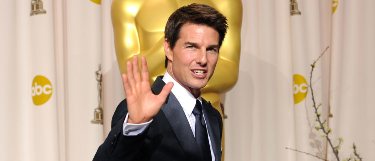 Actor Tom Cruise poses in the press room at the 84th Annual Academy Awards held at the Hollywood & Highland Center on February 26, 2012 in Hollywood, California. (Photo by Jason Merritt/Getty Images)