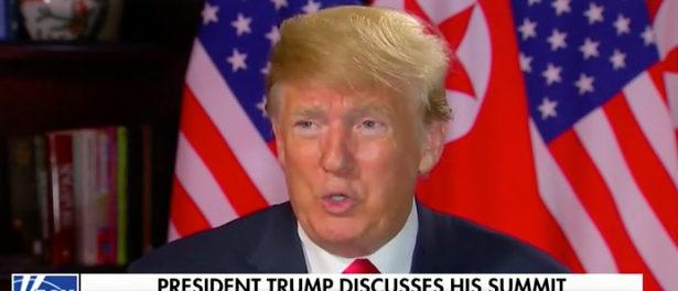 Trump Fox News screenshot  e