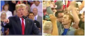 'Was That A Man Or A Woman?' — A Protester Interrupts Trump's Rally, He Makes Him Instantly Regret It