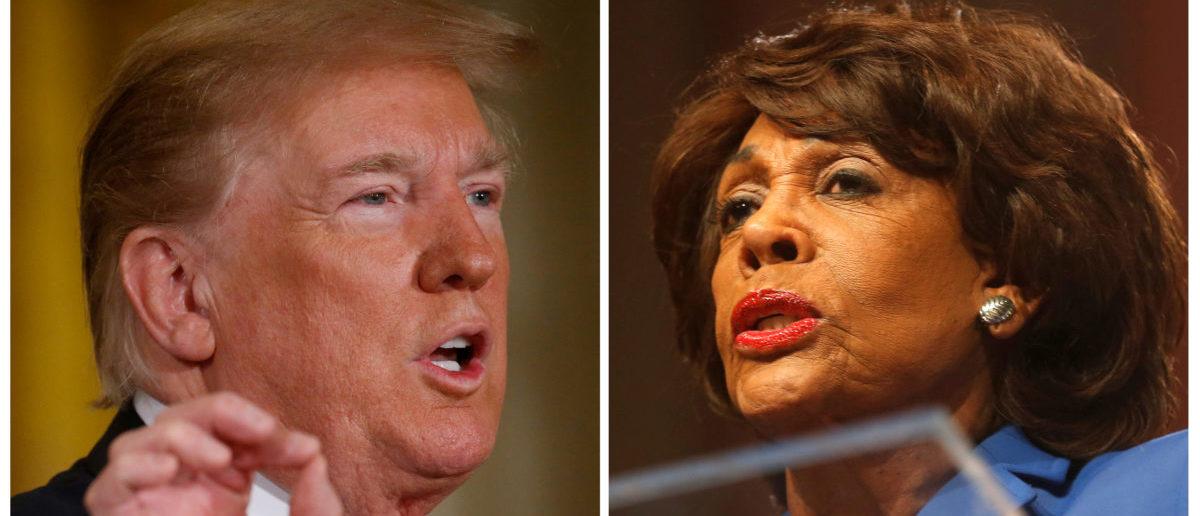 Trump Trolls Maxine Waters On Her Birthday