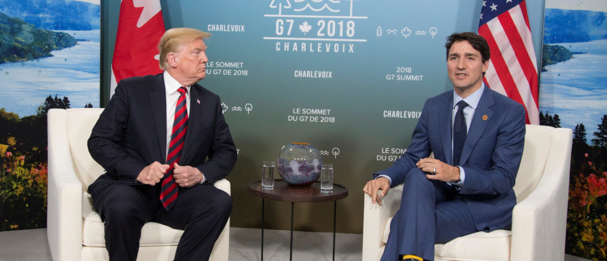Trump Tells Trudeau To Up Defense Spending As NATO Summit Looms