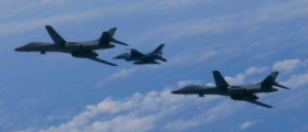 US Pilots Targeted By Lasers In The East China Sea