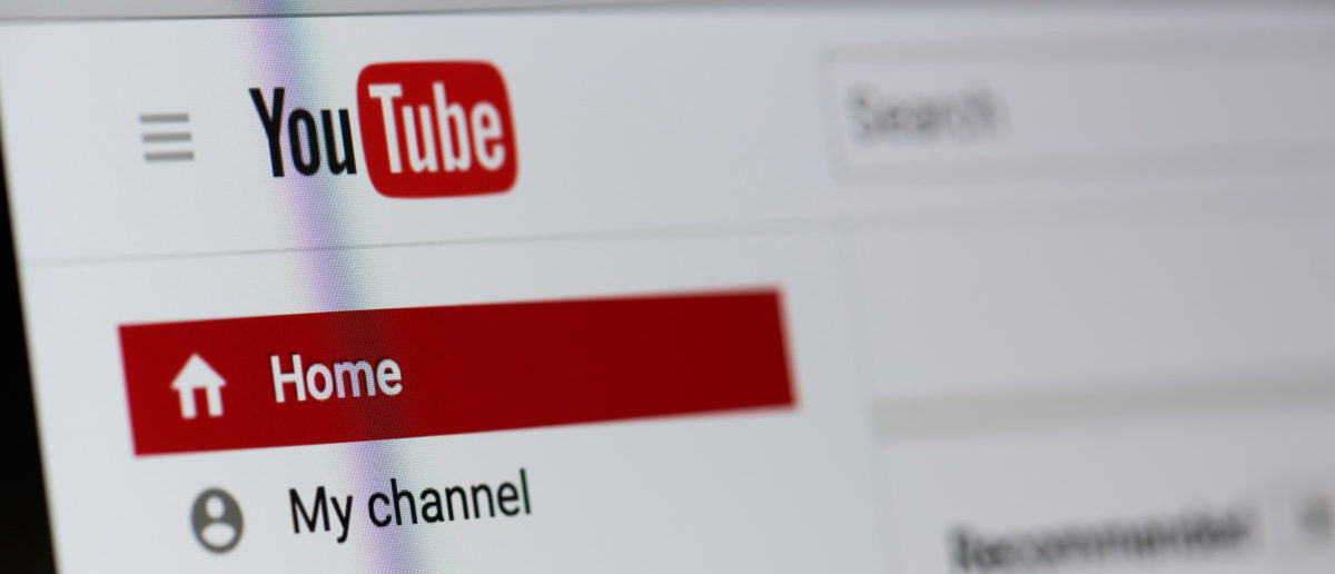 August 18, 2017: Youtube video service on laptop screen close-up. (Image: Shutterstock.com)