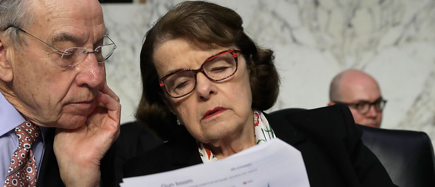 BILLINGSLEY: The Second Amendment Helped Feinstein Make It Out Of San Francisco Alive — But Don't Tell City Supervisors