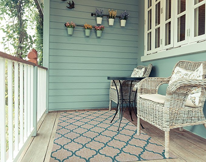 Normally $155, this outdoor furniture rug is 48 percent off today (Photo via Amazon)