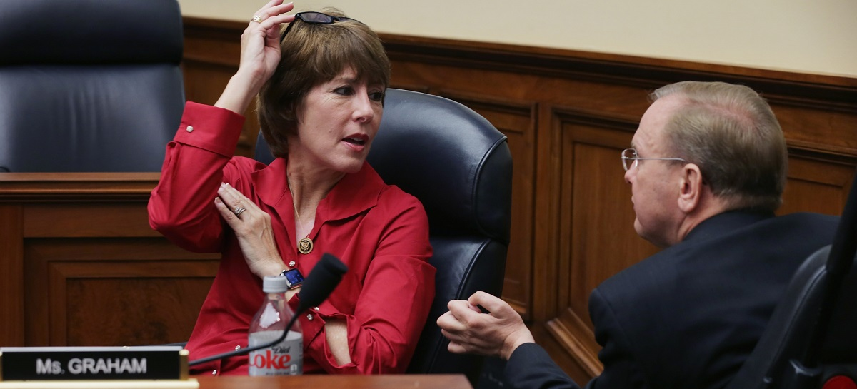 WASHINGTON, DC - NOVEMBER 18: Then-Rep., now Florida governor candidate Gwen Graham (D-FL) (Photo by Chip Somodevilla/Getty Images)