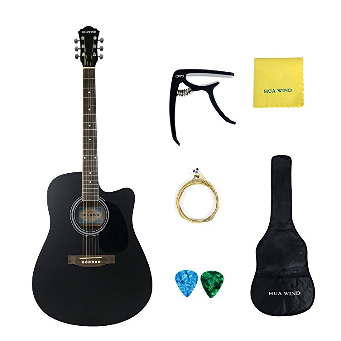 Normally $160, this guitar is 55 percent off today (Photo via Amazon)