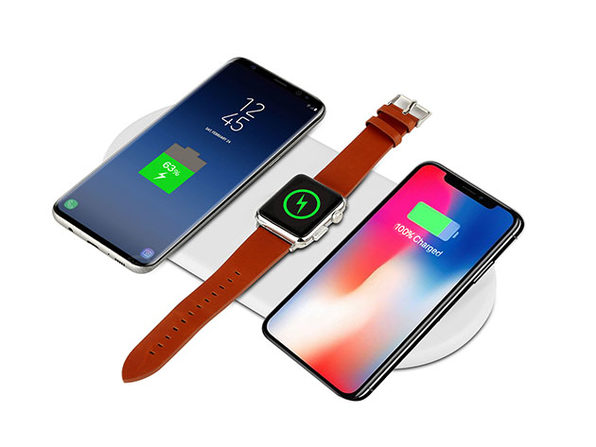 Normally $130, this 3-in-1 wireless charging pad is 62 percent off