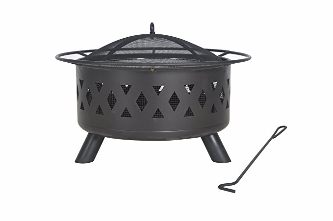Normally $158, this fire pit is 56 percent off today (Photo via Amazon)
