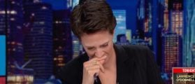Maddow Chokes On Her Own Narrative, Apologizes For Losing It On Air
