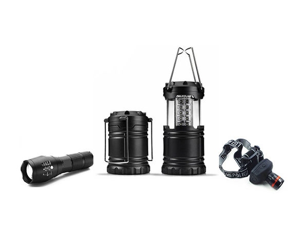 Normally $100, this 3-pack of tactical lights is 74 percent off