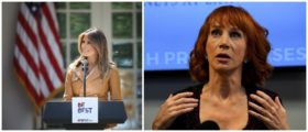Kathy Griffin Brutally Attacks First Lady 'Melanie' Trump On Twitter