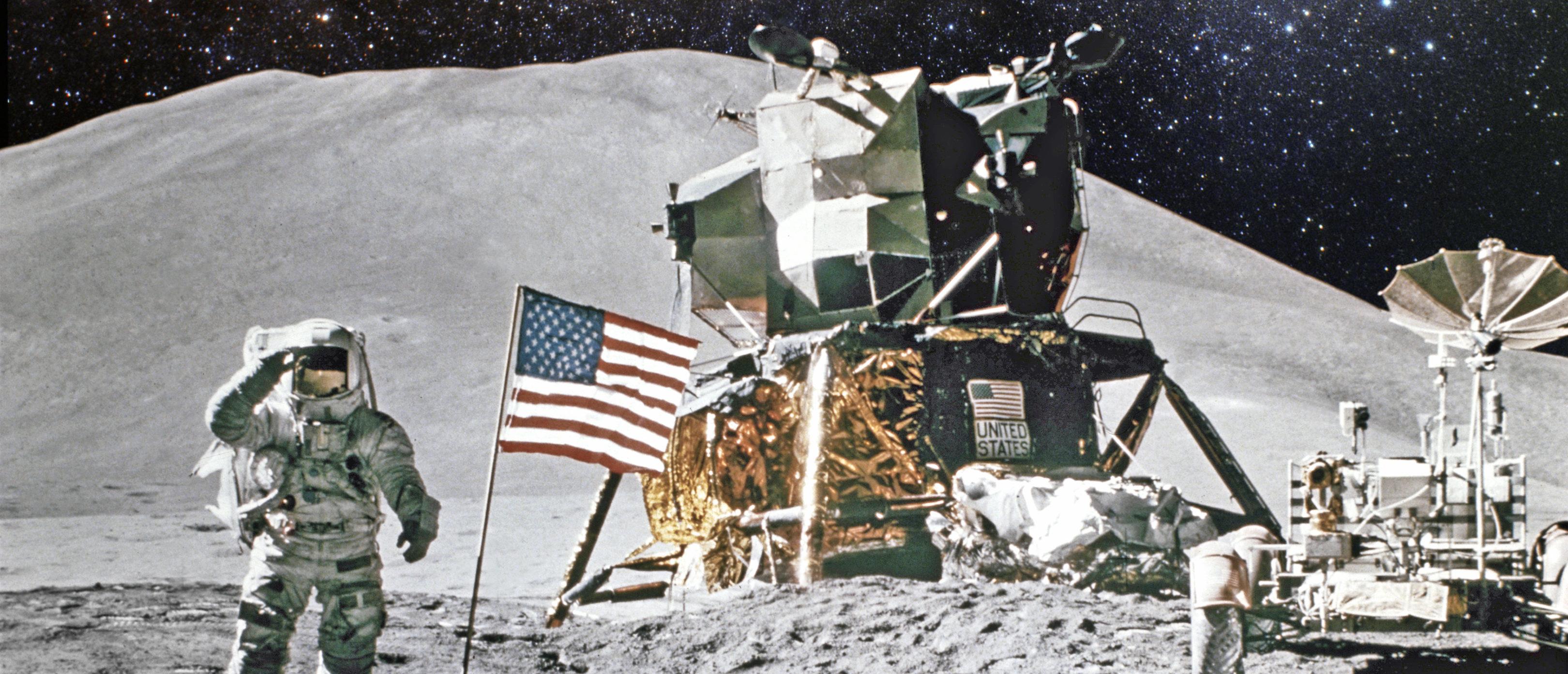 Moon landing, Shutterstock/ By Castleski